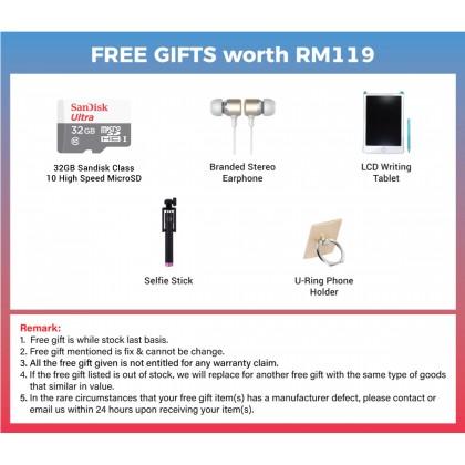 Samsung Galaxy A02 (3GB/32GB) Original Samsung Malaysia Set + 3 Free Gift Worth RM119