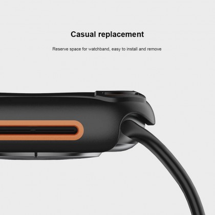 Nillkin Apple Watch (40mm/44mm) 4/5/6SE Series Watch Crash Bumper Full Protection Casual Charging Case
