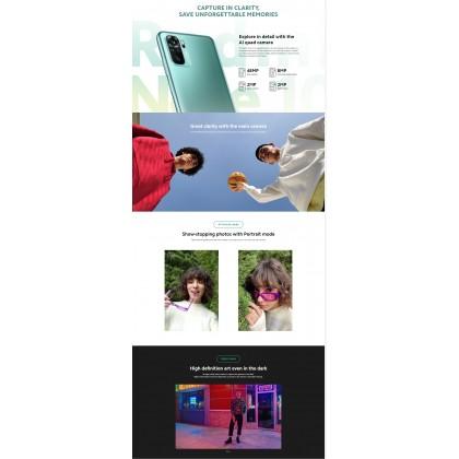 Xiaomi Redmi Note 10 (6GB/128GB) Original Xiaomi Malaysia Set + 5 Free Gift Worth RM99