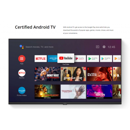"""Realme Smart TV 32""""/43"""" Ultra Bright LED Display 24W Quad Stereo Speakers Dolby Audio Certified Android TV + Free Gift Worth RM69"""