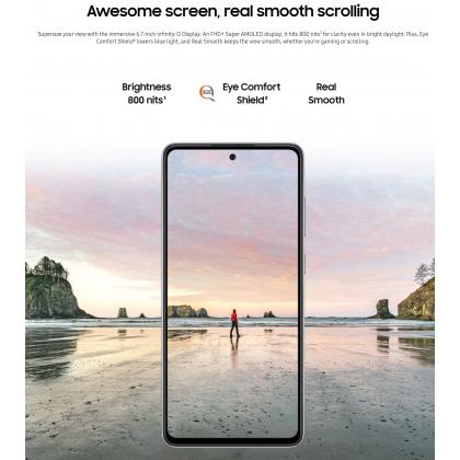 Samsung Galaxy A72 LTE (8GB/256GB) Original Samsung Malaysia Set + 6 Free Gift Worth RM249