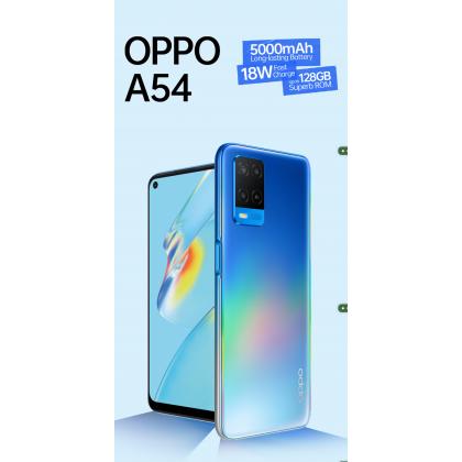 OPPO A54 (4GB/64GB) Original OPPO Malaysia Set + 4 Free Gift Worth RM69