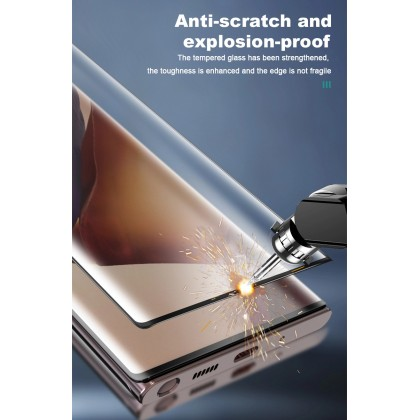 Atouchbo 99D Samsung Galaxy S21 Ultra Light Sensitive Nano Glass Film Exclusive For Curved Screen Easy Stick