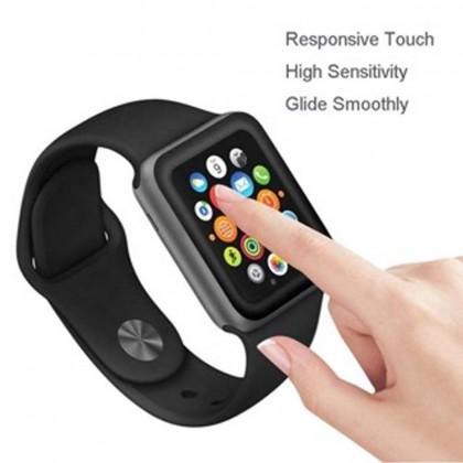 Atouchbo Apple Watch 40mm/44mm 2 In 1 PMMA Anti Scratch Nano Glass Full Coverage