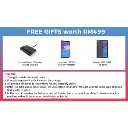 Lenovo Smart Tab M10 FHD Plus /tb-x606x (4GB/64GB) Original Lenovo Malaysia Set + 1 Free Gift Worth RM499