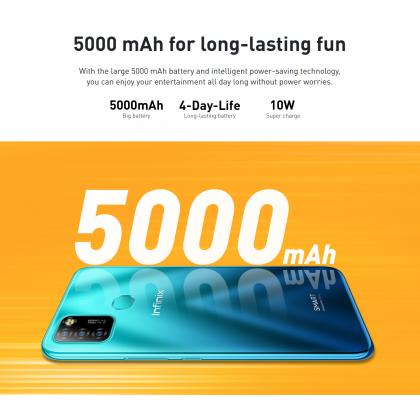 Infinix Smart 5 /X657C (2GB/32GB) Original Netfilx Malaysia Set + 4 Free Gift Worth RM69