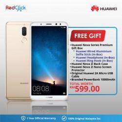 Huawei Nova 2i RNE-L22 (4GB/64GB) Original Huawei Malaysia Set + 5 Free Gift Worth RM599