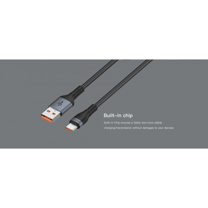Eloop S7/S6 5A Super Fast Charging Cable Built in Chip USB to Type-C Cable