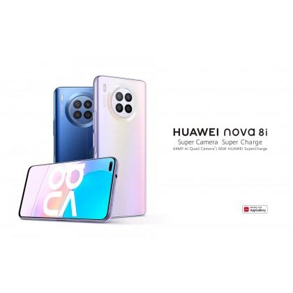 Huawei Nova 8i 4G LTE (8GB/128GB) Original Huawei Malaysia Set + 4 Free Gift Worth RM199