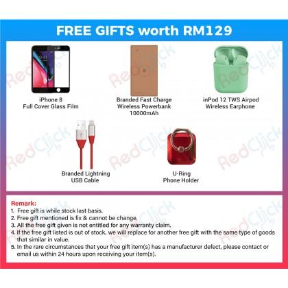 Apple iPhone 8 (64GB/128GB/256GB) Original Apple Malaysia Set + 5 Free Gift Worth RM129