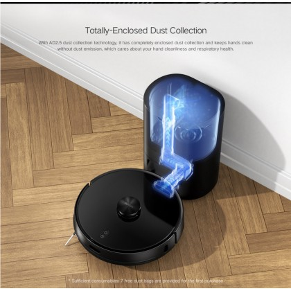 Xiaomi Lydsto R1 Vacuum Cleaner Robot Intelligent Sweep & Mop Integrated Robot Enclosed Dust Collection Strong Suction Cleaner + Free Gift Worth RM149