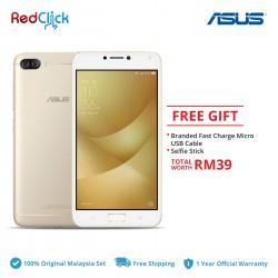 Asus Zenfone 4 Max / ZC520KL (3GB/32GB) Original Asus Malaysia Set + 2 Free Gift Worth RM39