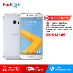 HTC 10/m10h 32GB/4GB LTE Original HTC Malaysia Set + 4 Free Gift Worth RM149