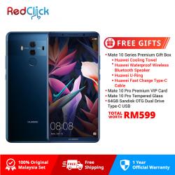 Huawei Mate 10 Pro/BLA-L29 (6GB/128GB) Original Huawei Malaysia Set + 6 Free Gift Total Worth RM1399