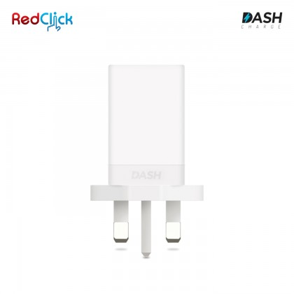 OnePlus Original Dash Charge Power Adapter (White) UK 3 Pin