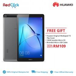 Huawei MediaPad T3 7.0 3G/BG2-U01 (2GB/16GB) + 3 Free Gift Worth RM109