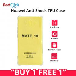 [Buy 1 Free 1] Huawei Mate 10/Nova 2i Anti Shock Transparent Back Case
