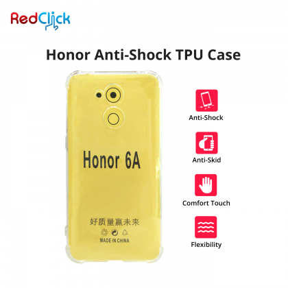 Honor 10 Lite /7s /8X /9 Lite /View 20 Anti Shock Transparent Back Case