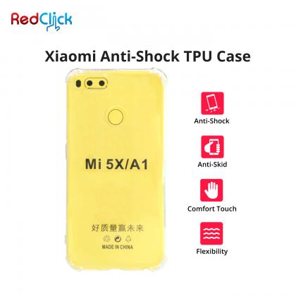Xiaomi Mi A2 Lite /Mi A3 /Mi Max 2 /Mi Max 3 /Pocophone F1 /Redmi 6 /Redmi 7 /Redmi Go /Redmi Note 5 /Redmi Note 6 Pro Anti Shock Transparent Back Case
