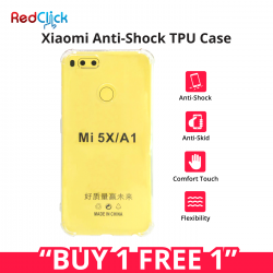 [Buy 1 Free 1] Xiaomi 4A/4X/Note 4/Note 5A/Note 5A Prime Anti Shock Transparent Back Case