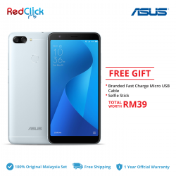 Asus Zenfone Max Plus /zb570tl (4GB+32GB) Original Asus Malaysia Set + 2 Free Gift Worth RM39
