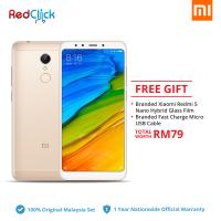 Xiaomi Redmi 5 (2GB/16GB) Original Xiaomi Malaysia Set + 2 Free Gfit Worth RM79