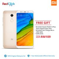 Xiaomi Redmi 5 Plus (3GB/32GB) Original Xiaomi Malaysia Set + 3 Free Gift Worth RM109
