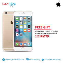 Apple iPhone 6 (32GB) Original Apple Malaysia Set + 2 Free Gift Worth RM79