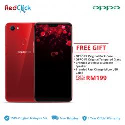OPPO F7 /cph1819 (4GB/64GB) Original OPPO Malaysia Set + 4 Free Gift Worth RM 199