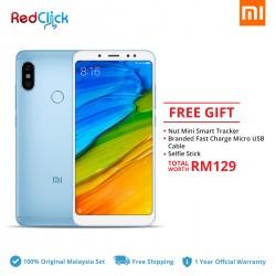 Xiaomi Redmi Note 5 (3GB/32GB) Original Xiaomi Malaysia Set + 3 Free Gift Worth RM109