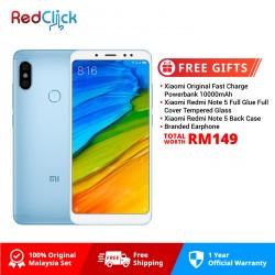 Xiaomi Redmi Note 5 (4GB/64GB) Original Xiaomi Malaysia Set + 4 Free Gift Worth RM149