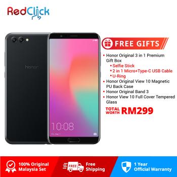 Honor View 10 (6GB/128GB) Original Honor Malaysia Set + 4 Free Gift Worth RM199