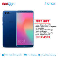 Honor View 10 (6GB/128GB) Original Honor Malaysia Set + 4 Free Gift Worth RM399