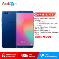 Honor View 10 (6GB/128GB) Original Honor Malaysia Set + 4 Free Gift Worth RM199