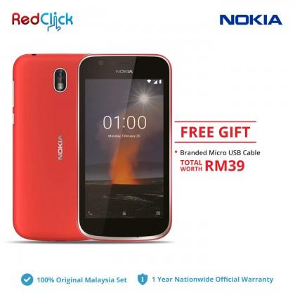 Nokia 1 (1GB/8GB) Original Nokia Malaysia Set + Free Gift Worth RM39