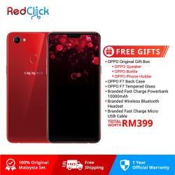 OPPO F7 /cph1821 (6GB/128GB) Original OPPO Malaysia Set + 5 Free Gift Worth RM299
