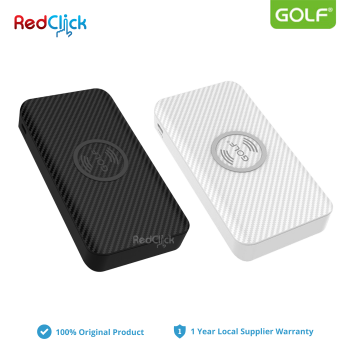 Golf Original W4 10000mAh Wireless Triple Input Fast Charge Powerbank