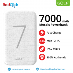 Golf Original G25 7000 mAh Dual Input Fast Charge Powerbank