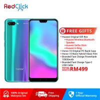 Honor 10 (4GB/128GB) Original Honor Malaysia Set + 5 Free Gift Worth RM499