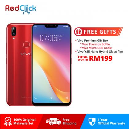 VIVO Y85 (4GB/32GB) Original VIVO Malaysia Set + 2 Free Gift Worth RM199