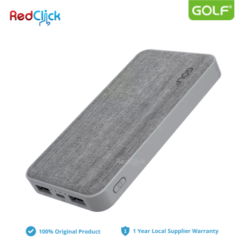 Golf Original GC31 10000 mAh Dual Input Fast Charge Powerbank