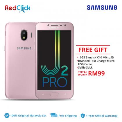 Samsung Galaxy J2 Pro/j250f (1.5GB/16GB) Original Samsung Malaysia Set + 3 Free Gift Worth RM99