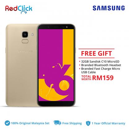 Samsung Galaxy J6/j600g (3GB/32GB) Original Samsung Malaysia Set + 3 Free Gift Worth RM159