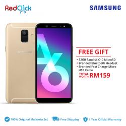Samsung Galaxy A6/a600g (3GB/32GB) Original Samsung Malaysia Set + 3 Free Gift Worth RM159