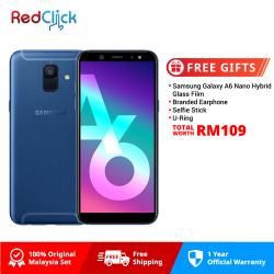 Samsung Galaxy A6/a600g (3GB/32GB) Original Samsung Malaysia Set + 4 Free Gift Worth RM109