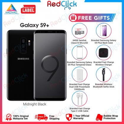 Samsung Galaxy S9 Plus/g965f (6GB/64GB) Original Samsung Malaysia Set + 7 Free Gift Worth RM499