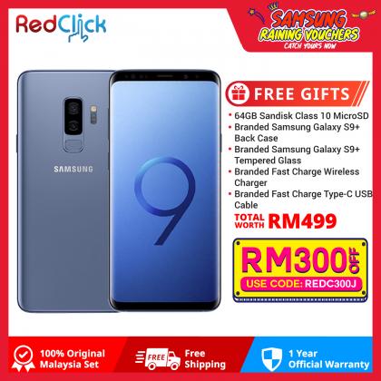 Samsung Galaxy S9 Plus/g965f (6GB/64GB) Original Samsung Malaysia Set + 5 Free Gift Worth RM499