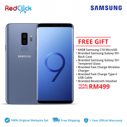 Samsung Galaxy S9 Plus/g965f (6GB/64GB) Original Samsung Malaysia Set + 6 Free Gift Worth RM499