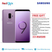 Samsung Galaxy S9 Plus/ g965f (6GB/128GB) Original Samsung Malaysia Set + 6 Free Gift Worth RM599