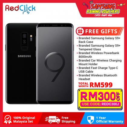 Samsung Galaxy S9 Plus/ g965f (6GB/256GB) Original Samsung Malaysia Set + 6 Free Gift Worth RM599